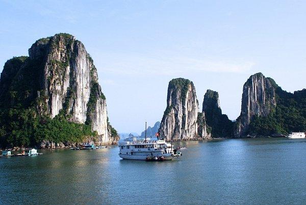 Vietnam nabízí mnoho krás, barev, chutí ivůní.