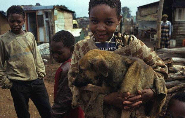 Mazlíčci v Africe
