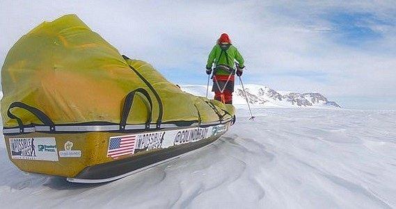 Sólo cesta přes Antarktidu.