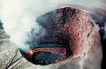 Sopka Puu-Oo na Havajských ostrovech