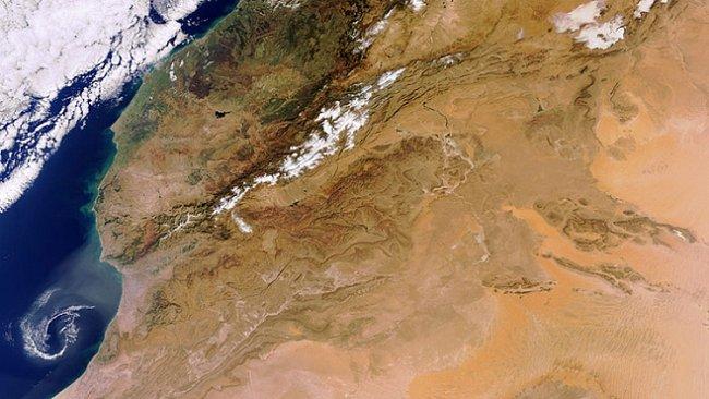 OBRAZEM: Tak vypadal leden ze satelitních dalekohledů