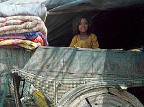 Dívka ve voze, Amber – Radžastán.(Indie), 2004.