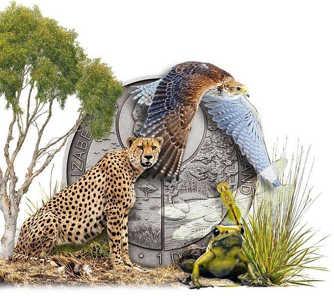 Příroda, přírodní motivy a zvířata patří k vděčným tématům, kde po umělecky zpracovaném ryzím kovu sáhnou nejen sběratelé a střadatelé.
