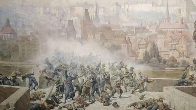 Švédské drancování Prahy