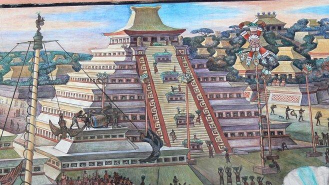 Aztécký mýtus o první válce a krvavé lidské oběti: to vypráví kámen Coyolxauhqui