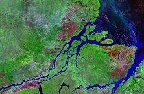 Delta patří se svými 100 000 kilometry čtverečními k největším na světě.