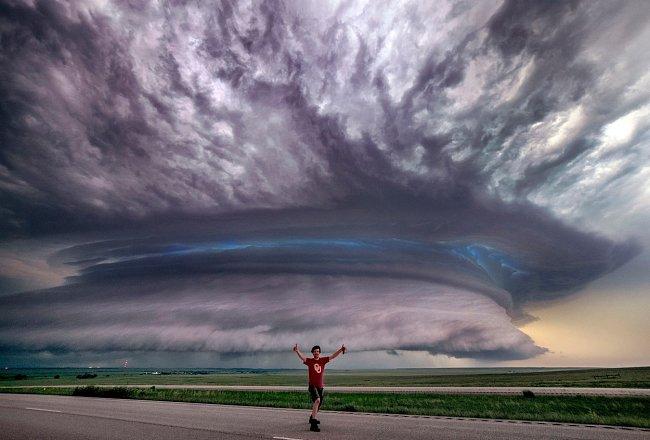 ...obliba se v jeho životě skvěle doplňuje se zaměstnáním - Marko totiž pracuje jako meteorolog.