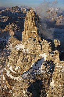 Fotograf Georg Tappeiner prozkoumal jedinečnou krajinu Dolomit po zemi i vzduchem.