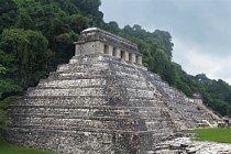 Chrám nápisů v Palenque - zde byla hrobka nalezena.