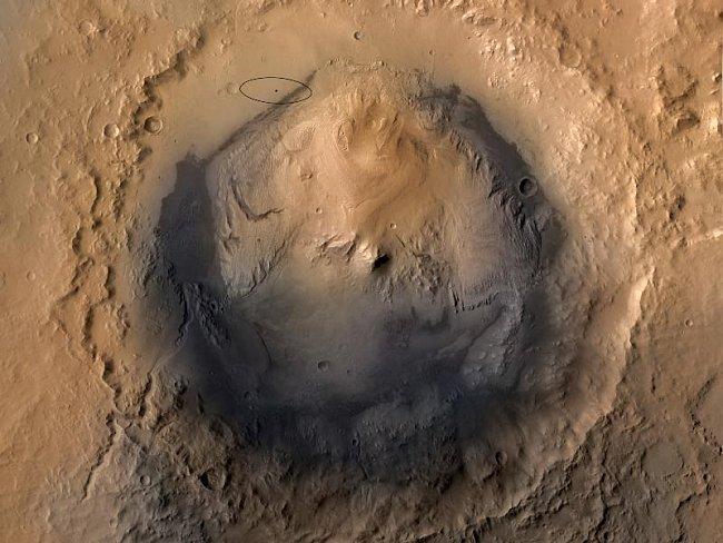 Gale je impaktní kráter na povrchu Marsu, vzniklý v době asi před 3,5 - 3,8 miliardami let. Jeho průměr je 154 km a hloubka kolem 4 km. V jeho středu se nachází 4,5 km vysoká hora nazvaná Aeolis Mons.