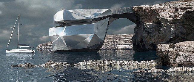 Odvážný projekt, jak připomenout nezapomenutelnou krásu skalního útvaru.