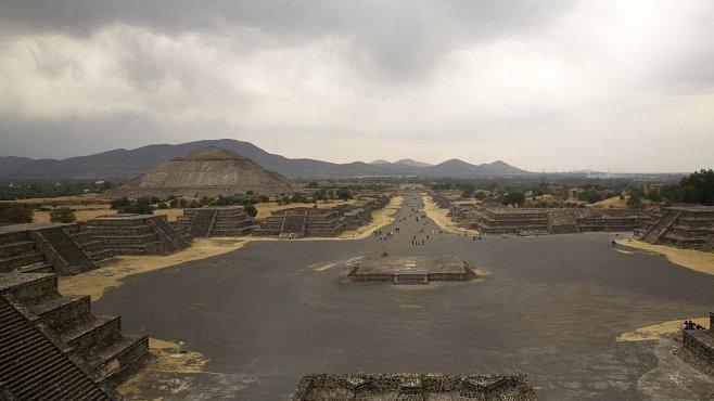 Pohřbívání ve starém Teotihuacánu: Pravdu odhalil make-up mumií