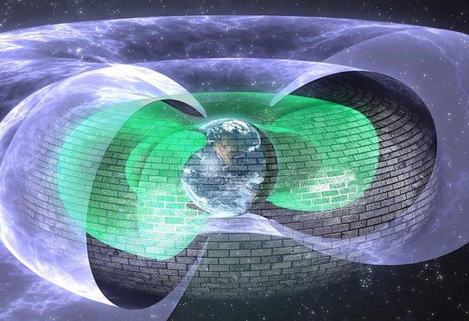 Neviditelné štíty planety Země