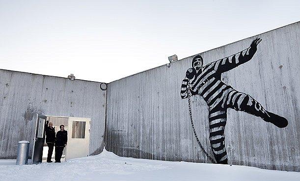 INFOGRAFIKA: Vězení, kde skončí Breivik, je luxusní. Ale promyšlené