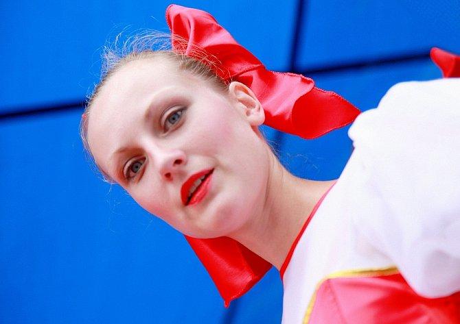 """""""Pravá blondýnka"""", Rumunsko."""