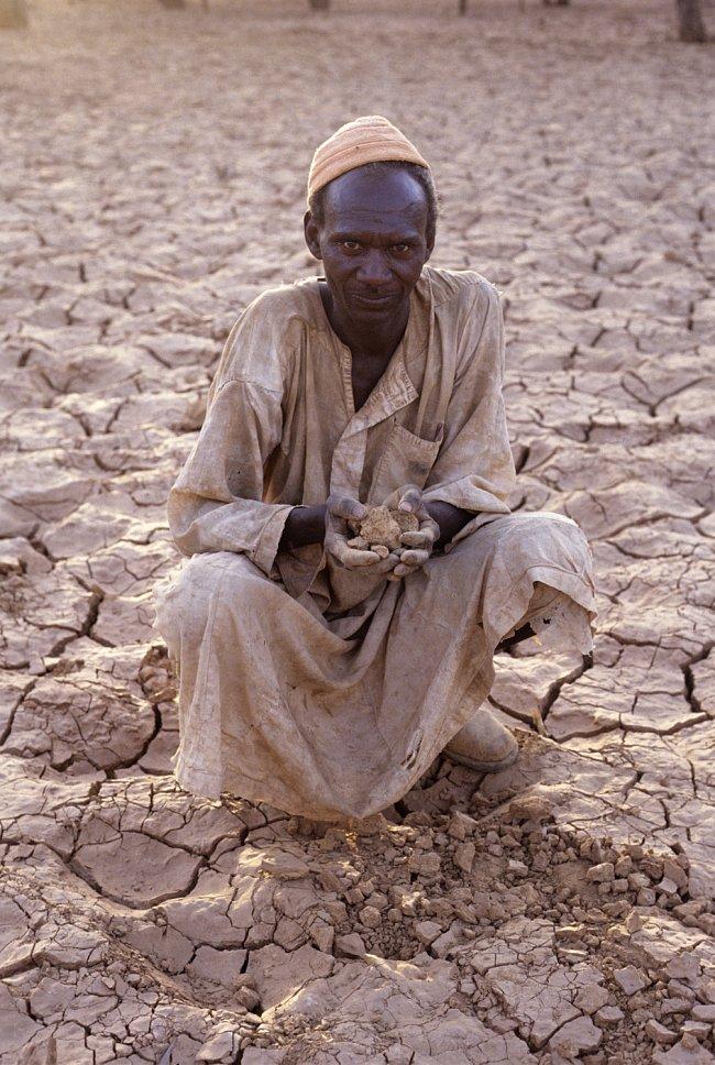 V Súdánu je sucho po většinu roku.