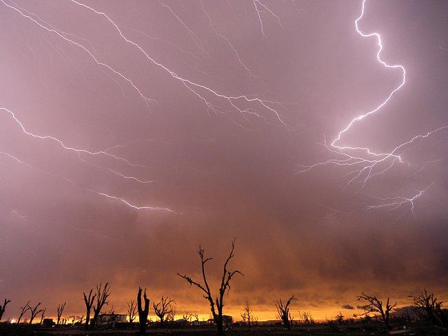 V obrazech by se mohl nacházet klíč k některým největším záhadám blesku. Proč někdy blesk uhodí do nízkého stromu, když těsně vedle něj stojí vysoká kovová věž?