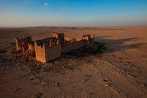 Qasr Bašír, Jordánsko  Pevnost na okraji pouště byla vybudována kolem roku 300 n. l. a patří k nejzachovalejším římským pevnostem na světě. Posádku tvořilo 70 až 160 jezdců, kteří chránili karavany př