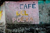 """Kavárna sprozaickým názvem """"Café del Poeta"""""""