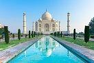Skvostný náhrobek pro císařovu ženu - Tádž Mahal