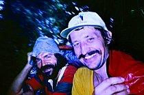 Miroslav Šmíd a Josef Rakoncaj Výstup stěnou Western Breach Wall, Kilimandžáro, prosinec 1990