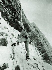 Výstup na Trollryggen, 1976