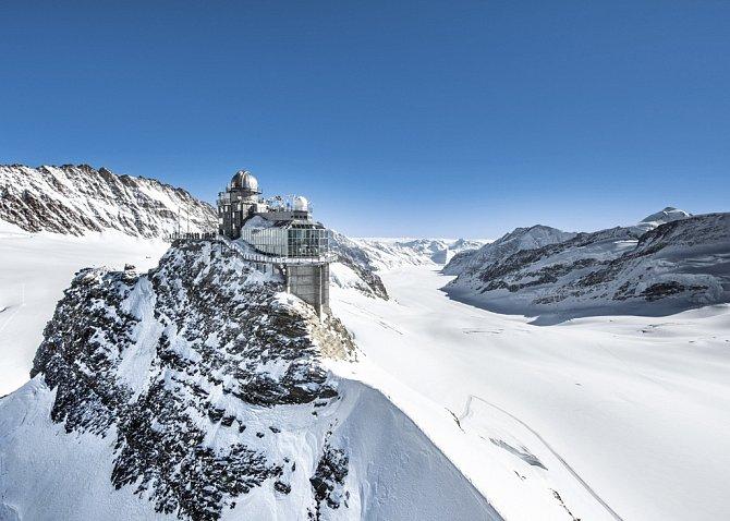 ungfraujoch, Top of Europe – Nejvýše položená železniční stanice vEvropě