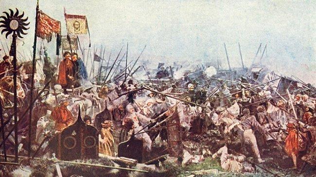 Bitva u Lipan, kde Češi bojovali proti Čechům