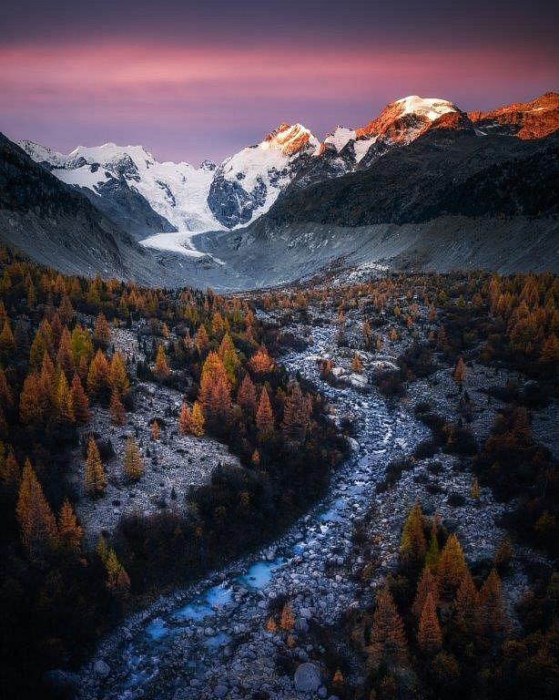 Údolí Morteratsch