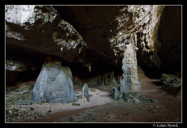 Jeskyně Hoq dlouhá tři kilometry.