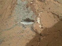 Vozítko poprvé vyzkoušelo kladivo, které umožní podívat se na geologii Marsu do hloubky. Brzo se ´bude zkoušet rotace kladívka a dalších funkcí.