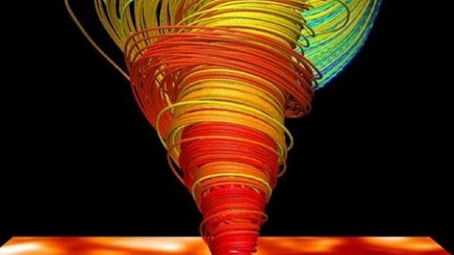 VIDEO: Plazmatická tornáda na Slunci měří tisíce kilometrů