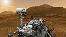 Curiosity na Marsu
