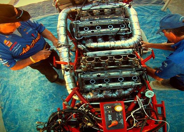 Motorka pochází ze stáje společnosti Top 1 Oil Products Company.