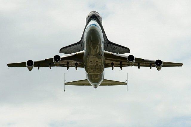 Poslední let raketoplánu Columbia