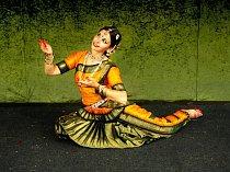 Indický chrámový tanec Bharata natyam