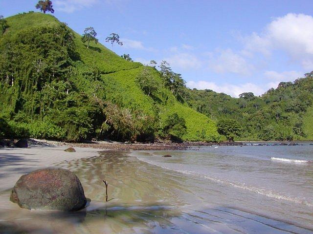 Pláž Chatham na Kokosovém ostrově