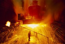 Východoslovenské železárny Košice, předmět velké československé privatizace v roce 1992, odrážejí původní roli státu jako dílny komunistického Východního bloku.