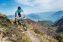 Valle di Ledro nabízí jezera, ale i hory.