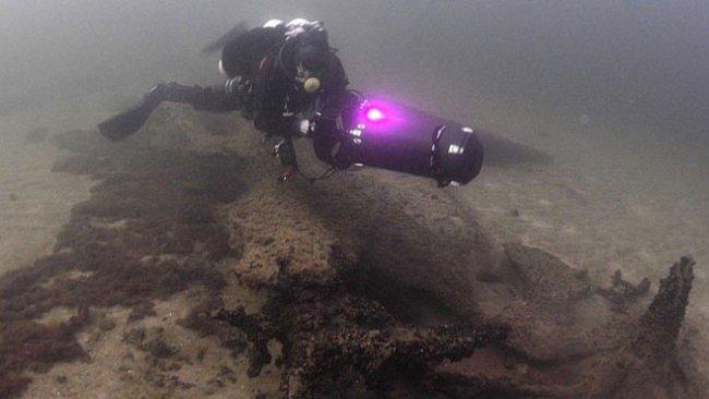"Švédská ""Atlantida"" se skrývala 16 metrů pod hladinou Baltu"