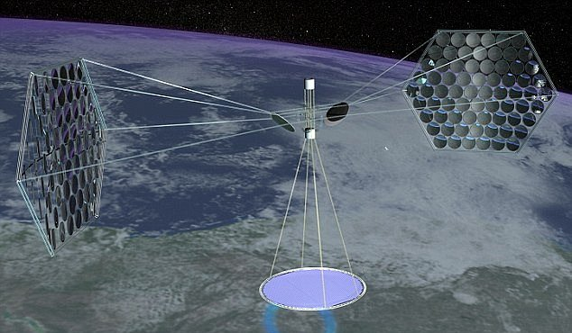 Solární elektrárny v kosmu by mohly zlevnit elektřinu