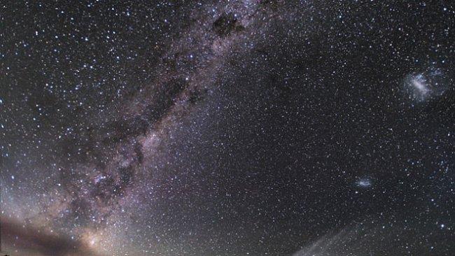 Exkluzivně pro National Geographic: Jak se fotí Magellanův oblak