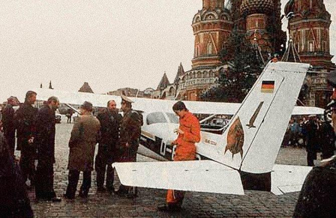 Cessna 172 na Rudém náměstí