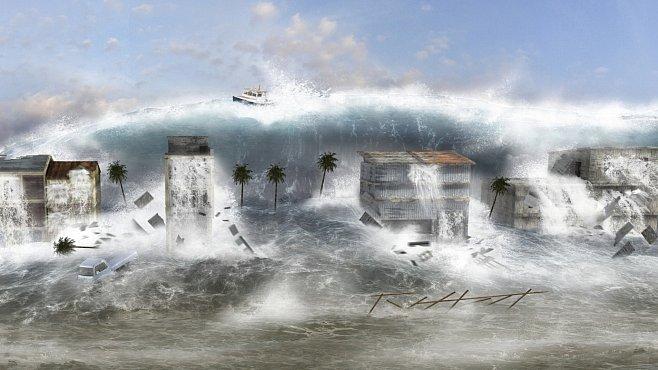 Ameriku zasáhne vlna 25 milionů tun odpadků. Jsou to zbytky cunami