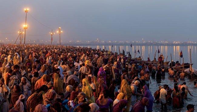 Karma davu během největší náboženské slavnosti na světě