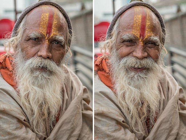 Fotograf a cestovatel Jay Weinstein se během cest po Indii rozhodl ukázat, jak se náš postoj k druhým lidem změní, když se usmějí.