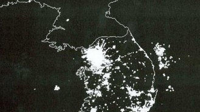 Fotka, která vše vysvětluje: jaký je rozdíl mezi Severní a Jižní Koreou