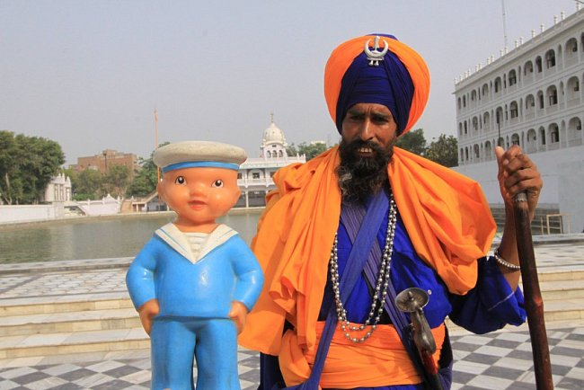 Pepek námořník v Indii