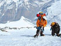 Cesta k vrcholu sedmé nejvyšší hory světa Dhaulagiri. Zážitky člena expedice horolezce Radka Jaroše.