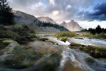 Vodopády řeky Fanes